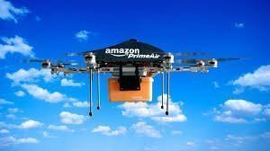 """Amazon Prime Air"" - Fully Autonomous and no Human Pilot"
