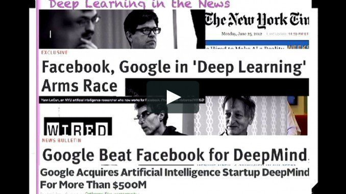 Top 10 Best Deep Learning Videos, Tutorials & Courses on YouTube from 2017