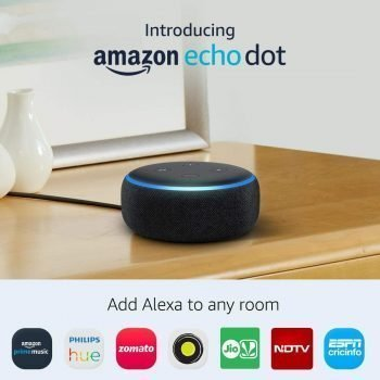 All-new Echo Dot (3rd Gen) - Smart speaker with Alexa