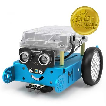 Makeblock mBot Robot Kit, Family Choice Awards in Toys & Gift for 8yr+, Mechanical DIY, Programable Robot, Stem Toy(Blue, Bluetooth Version, Family)