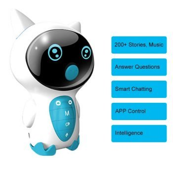 Hi-Tech AI Intelligent Robot Educational Robot Toy with 200+ Stories, Songs, Lessons, Smart Answering Questions and Chatting with Boys, Girls, Toddlers, Kids