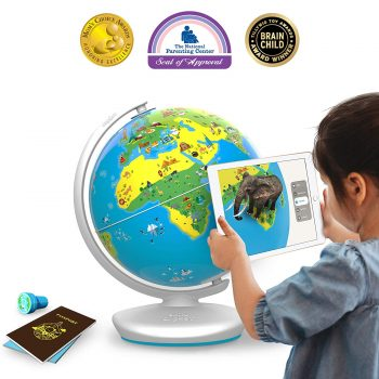 Shifu Orboot (App Based) Augmented Reality Interactive Globe for Kids, STEM Toy for Boys & Girls Age 4 to 10 Years - Educational Toy Gift