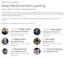 Deep Reinforcement LearningCS 294-112 at UC Berkeley